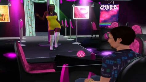Sims 3 Exotic Dance and Invisible Fence Mods and Movie
