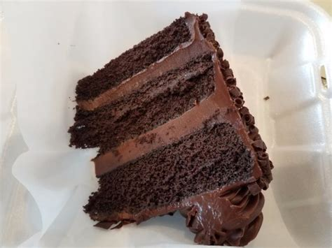 Chocolate Suicide cake - Picture of City Cafe Diner