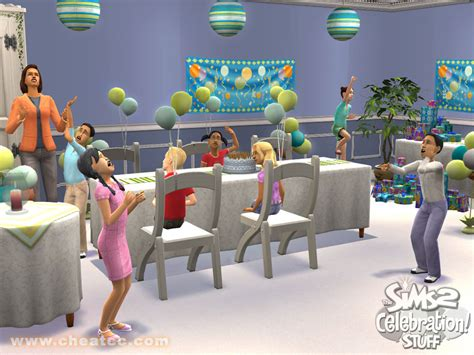 The Sims 2: Celebration Stuff Expansion Review for PC