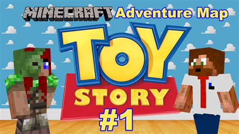 Minecraft Adventure Map - Toy Story 2 #1 - YouTube