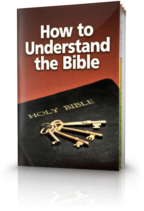 How to Understand the Bible | United Church of God