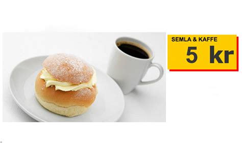 A Semla at Ikea - Worlds cheapest Semla? - Stockholm Today